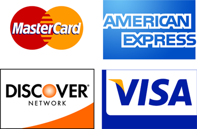 Shelton Cinemas accepts Visa, Mastercard, Discover, and American Express