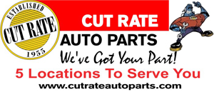 The Shelton Cinemas is supported by Cut Rate Auto Parts