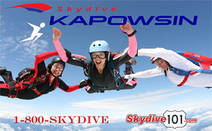 The Shelton Cinemas is supported by Kapowsin Skydiving