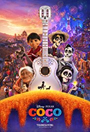 Movie poster for Coco