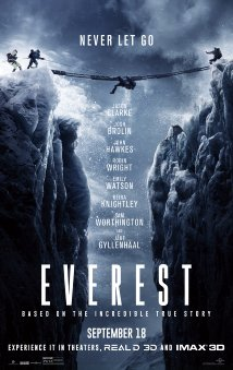 Movie poster for Everest