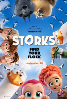 Movie poster for Storks